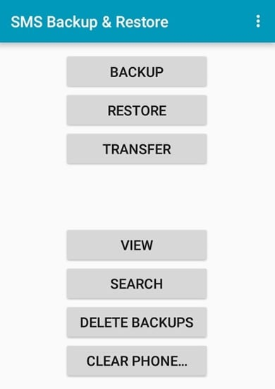sms backup restore to pc