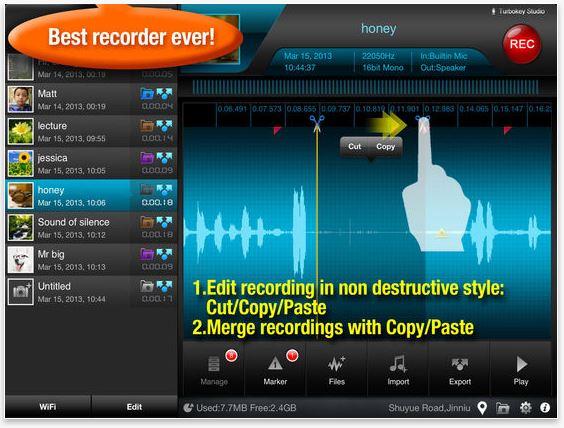 Voice Recorder App - Recorder Plus
