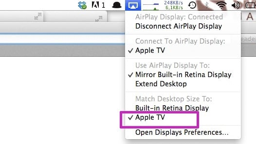repareer apple tv mirroring vertraging