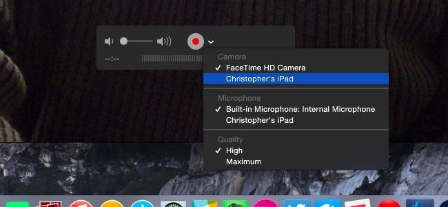 best screen recorder for iPad - Quicktime