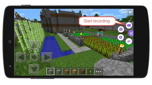 record Minecraft Pocket Edition on Android