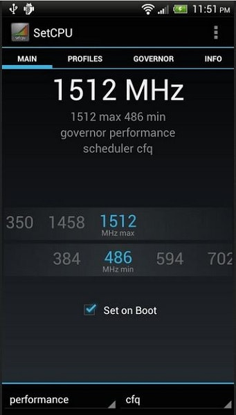 set cpu for rooted user