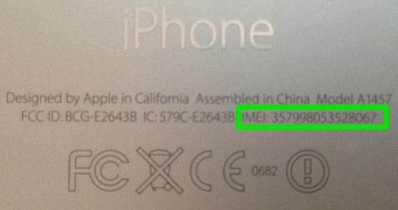 IMEI-Code auf dem iPhone finden