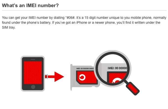 Vodafone Unlock Phone via vodafone