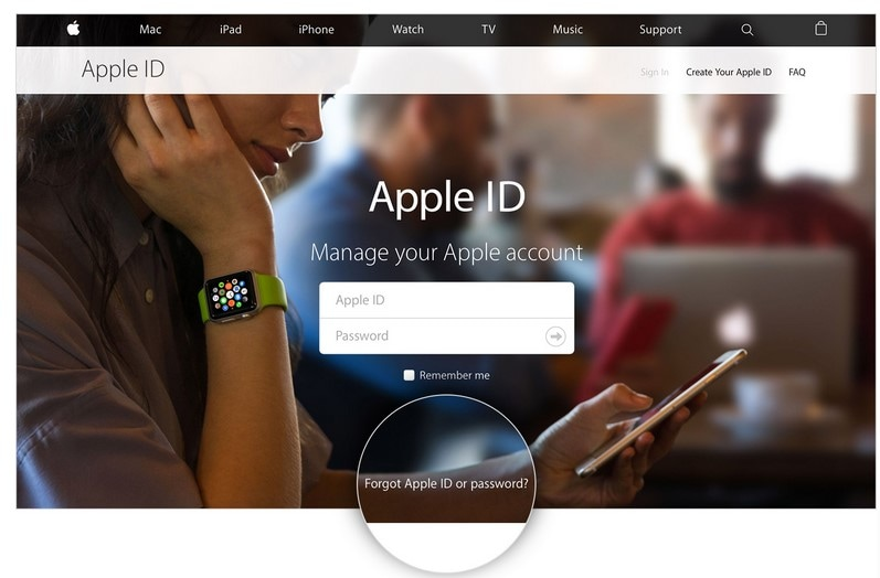 How to unlock iPhone 6 forgot apple id