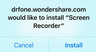 Het opnemen van iOS Games op je device