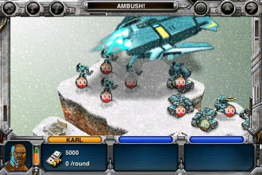 Beste iPhone Games - Rogue Planet