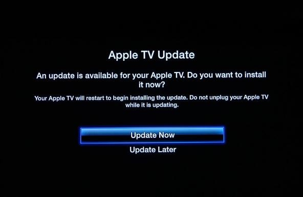 Update Apple TV