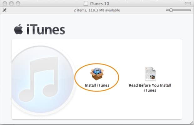 itunes error 50-Finish itunes download