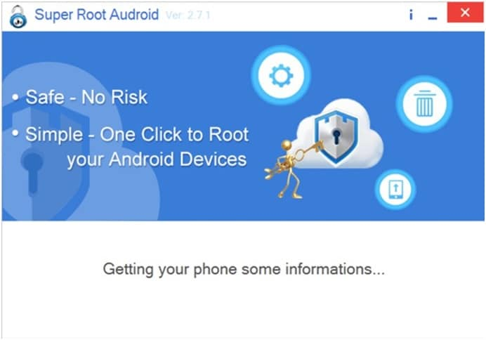 how to use super root apk