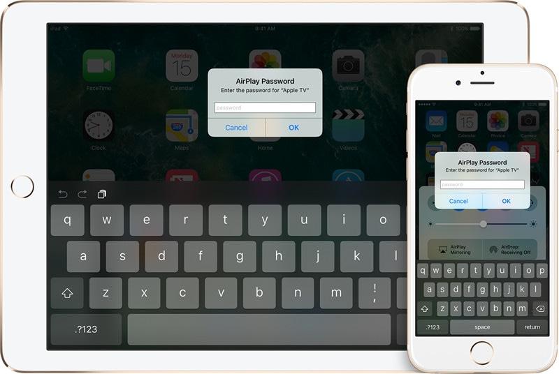 airplay iphone screen mirror on apple tv