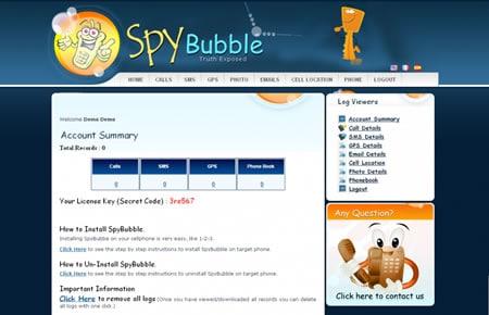 whatsapp monitor-Spy Bubble