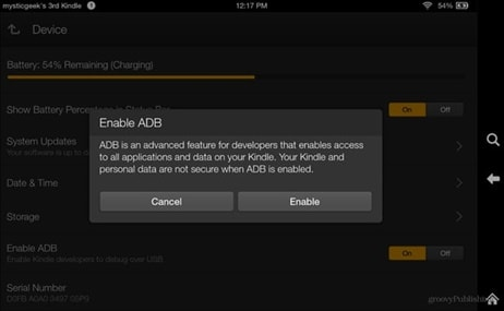 root kindle fire with adb drivers