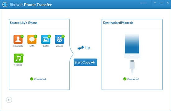 jihosoft phone transfer