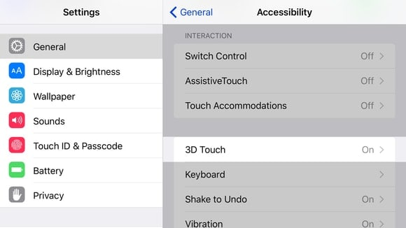 Adjust 3D Touch Sensitivity to fix iPhone touch screen not working issue