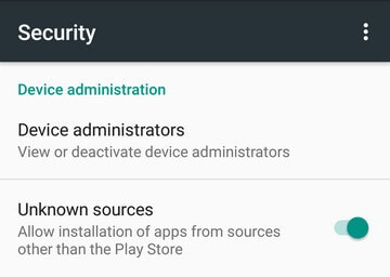 root samsung note 3 - allow unknown sources