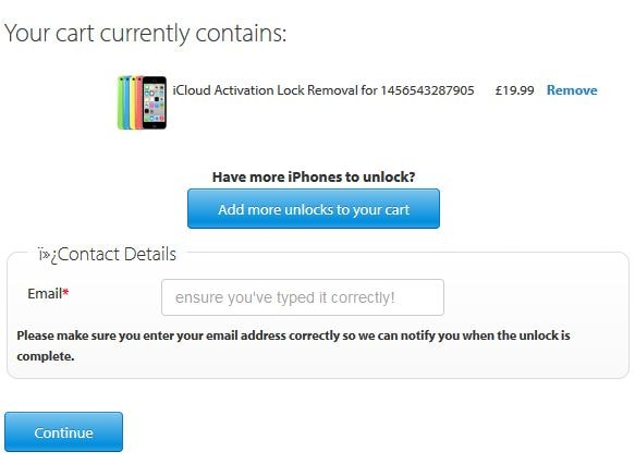 Bypass iCloud Lock on iPhone 8