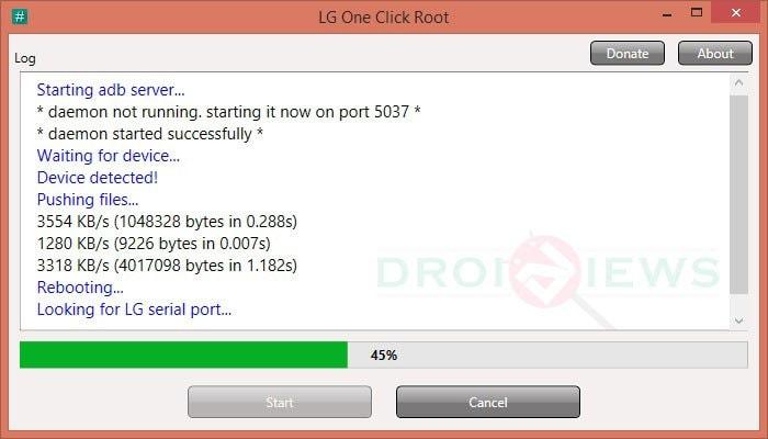 lg one click root - one click root script
