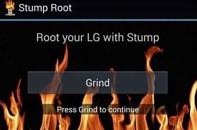 root lg g3 - press grind