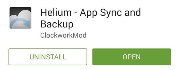 backup samsung s4 - download helium