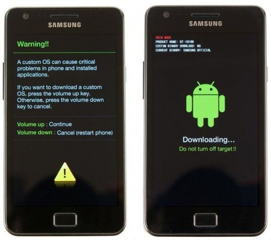 s6 active root-Enter 'Download Mode'