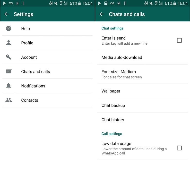 How to transfer whatsapp to new phone-setting