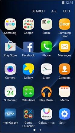 verlorenes samsung-telefon-auf einstellungen gehen