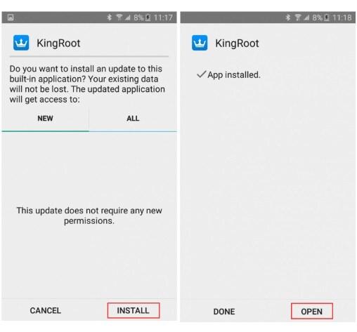 install kingroot