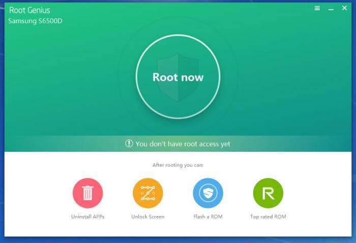samsung root software - root genius
