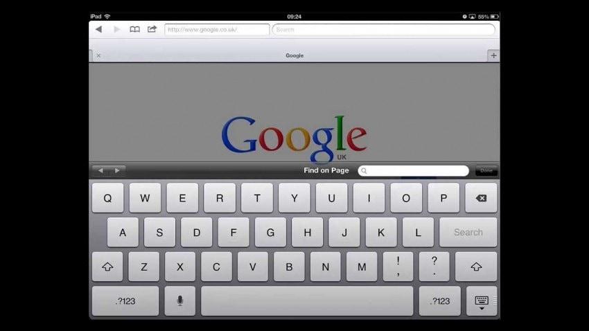 eliminare la cronologia di google su ipad