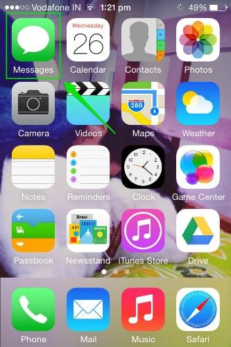 open message app