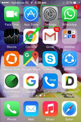 rimuovere Safari su iPhone