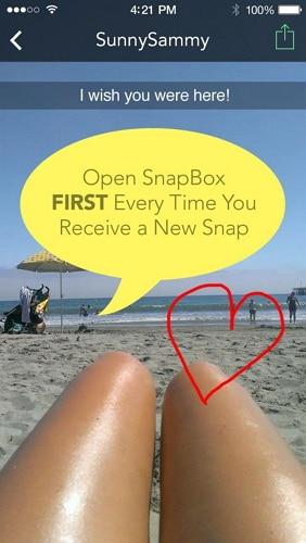 snapbox alternative-open snaps in snapbox