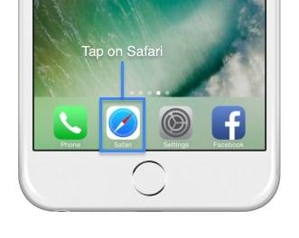 AirShou download-open safari