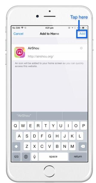 AirShou download-add here