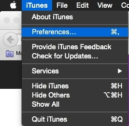 itunes preference
