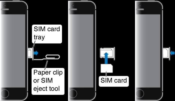 remove iphone sim card