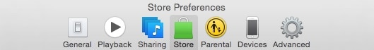 store preference