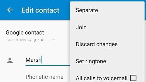إصلاح مشاكل WhatsApp- جهات اتصال متكررة