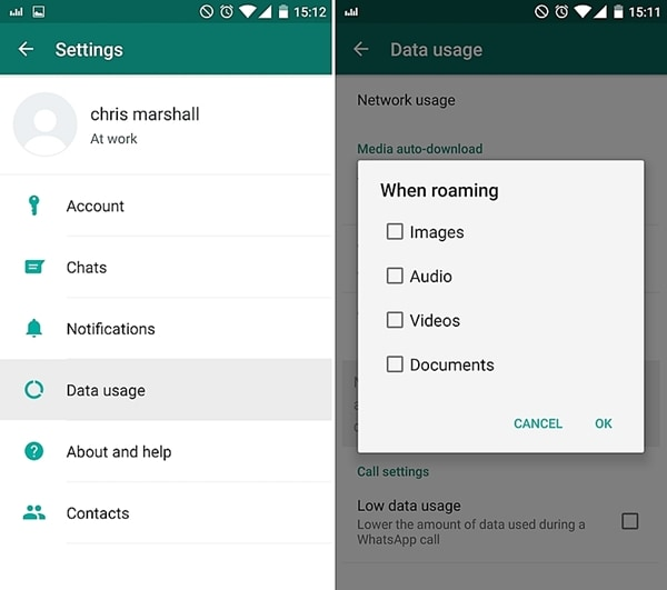 إصلاح مشاكل WhatsApp- لا يمكن تحميل وسائط WhatsApp