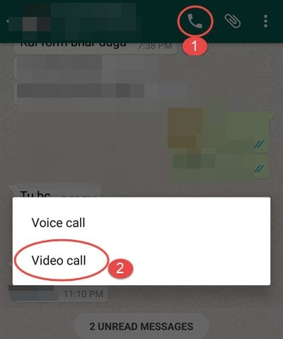 fix whatsapp problems-Can't make voice/video calls