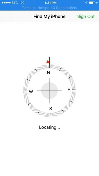 locating