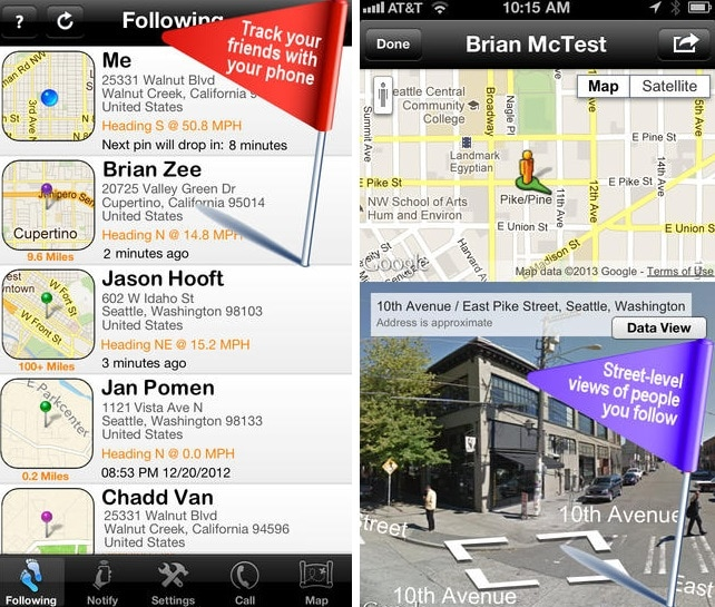 iphone tracking app-iTrack