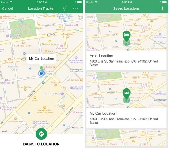 iphone tracking app-Simple Location Tracker