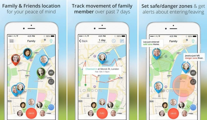 iphone tracking app-Family Locator