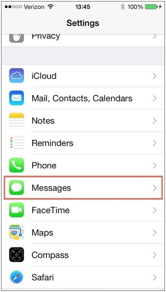 """select """"Messages"""""""