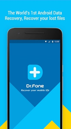 Launch Dr.Fone Data Recovery
