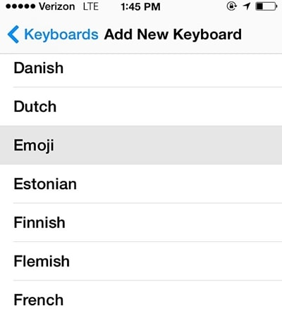 add new keyboard