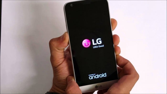 turn on lg g5