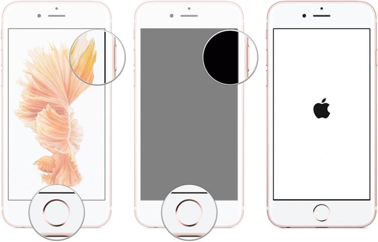 Neustart erzwingen iPhone 6